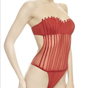 2c8f95a3ca794 La Perla Swim - La Perla Graphique Couture Swimsuit RED